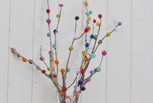 Ideias com pompons