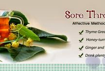 Home Remedies for sore throat / sore throats can be very painful and  can lead to tonsillitis if not treated at the right time , so instead of running to a doctor , you  can try some natural and easy homemade remedies for sore throat which can save a lot of time by showing