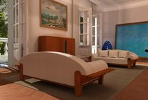 PRICCS kör, furniture with enamel /  PRICCS kör