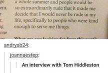 Loki and Tom Hiddleston