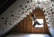 Climbing room