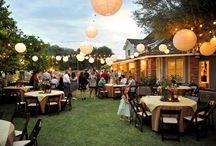 Backyard wedding / Wedding