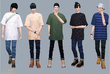 Vêtements hommes - Sims 4