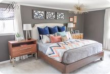 Master Bedroom / by Melissa Plowman