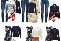 Capsule wardrobe, great idea
