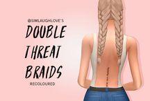 Sims 4 CC - Hair