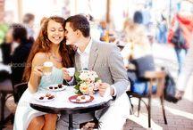в кафе для двоих
