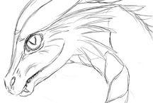 Drachen zeichnen