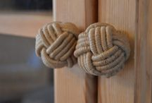 Door handle knot