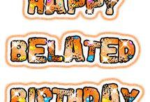 Laat verjaarsdae