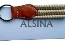 LLAVEROS ALSINA / Llaveros piel y lona.