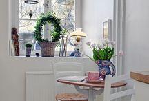 Apartamento nordico con toques exoticos y vintage