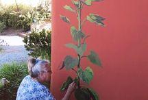 Sunflower mural  / by Katrina Amundsen