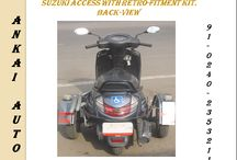 Side Wheel Attachment (Suzuki Access)