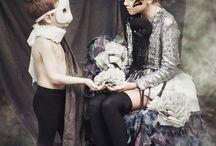 Halloween  / Фотограф Анастасия Сердюкова Образ, одежда и аксессуары - Луиза Потапова Модель Артем Казьмин