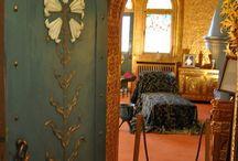 Art Nouveau  at Pelisor Castle in Sinaia / Art Nouveau  at Pelisor Castle in Sinaia