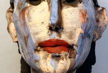 Ceramic portrait