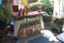 Parties: Luau / Parties decorations and more