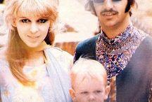 The Beatles /    Ein Beatle kann nicht Nicht-mehr-Beatle sein. Er wird es ewig bleiben. Und ihre Fans werden alle Vier immer im Herzen tragen.    -  Einige Pins von Astrid Carlucci.
