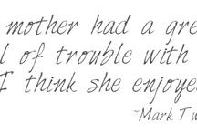 Words / by Amy Christine Martin