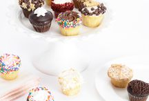 Cupcakes!!! / Gourmet Cupcakes have finally arrived to Bake Me A Wish! We've created a special selection of assortments just for you and your loved ones to enjoy from New York's finest cupcake bakery. These hand crafted delicacies are perfect for your next gift delivery - ship them anywhere nationwide, guaranteed to arrive on the date you select! Each gift includes a greeting card of your choice which has your personal, heartfelt message.