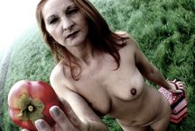 Eszter and the Eva's Apple. In the Fog