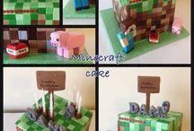 Inspirasjon til minecraftkake