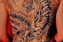 tatouages tigres / tatouages tigres