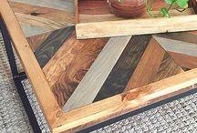 Wooden mosaic insp