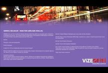 Vize işlemleri / Konsolosluk Vize işlemleri Vize başvuru merkezi