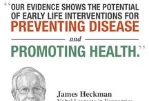 Create a Healthier Society / New research from economist James Heckman shows that quality early childhood programs help prevent adult chronic disease.