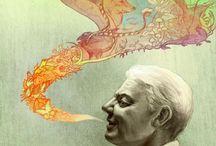 Illustration&Artwork / by Mythopoeia