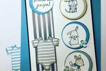 Made with Love / Stamp Set en Baby's First Framelits Dies Stampin' Up