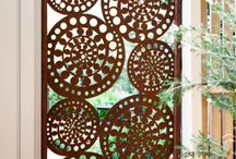 Laser cut panels / All sorts of laser cut panels for screens, fences etc