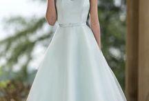 tea dress wedding