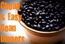 Bean Recipes / by Carolyn Zewe