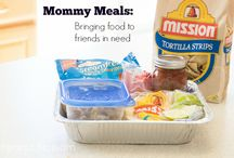 Loving New Moms / Creative and practical ways to love new moms, including lots of meal ideas!