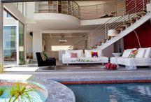 large modern Living room Water design / large modern Living room Water design