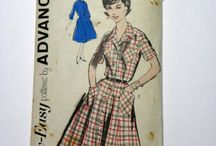 Vintage Sewing Patterns / A Collection of Vintage Sewing Patterns.