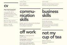 Cool CV / CV and self marketing