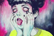 Artist gallery: Harumi Hironaka / This board is just a collection of pieces produced by the artist above