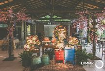 Decoração de casamento colorida / Inspiração para as noivas que buscam uma decoração de casamento alegre e colorida!!!