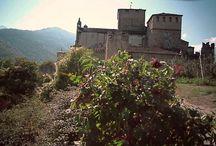 castles  Aosta valley