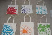 Festhető textil táskás