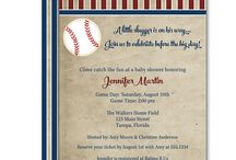 Boy Baby Shower Invitations / Looking for invites for your boys baby shower?  The Invite Lady offers everything from sports themed invitations to elephants and sailboats for the new little man on the way!