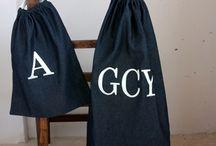 Bags with drawstring / LAUNDRY bag  TOTE bag  KIT bag