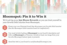 Bloomspot-astic! / by Yoli Pe