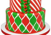 Christmas Cakes, Cookies & Cupcakes / Want to make holiday confections to stun the crowd. Our ideas are quick, easy & stunning!