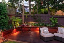 Záhradná obývačka