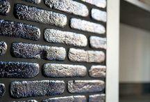 Тренды: Кирпич / Кирпичные кладки, лофты, имитация фасадного кирпича.